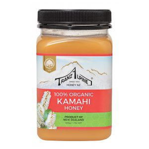Organic Kamahi Honey