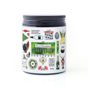Pine and Pohutukawa Christmas Candle 160g by William and Emerson