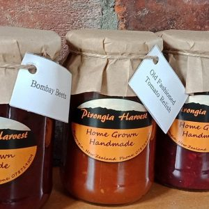 Pironga Harvest Chutney, relishes and jams