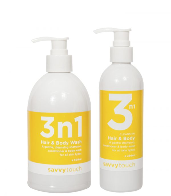 3N1 Body and Hair Shampoo and Conditioner