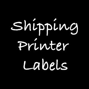 Shipping Printer Labels