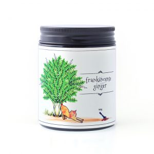 Frankincense and Ginger 160g candle by William and Emerson