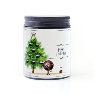 Plum Pudding 160g candle by William and Emerson