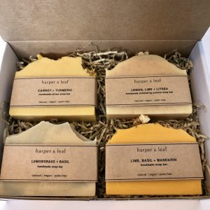 Citrus soap bar gift set