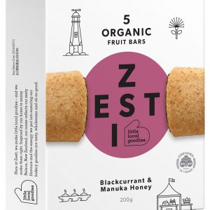 Zesti Organic Blackcurrant Fruit Bar