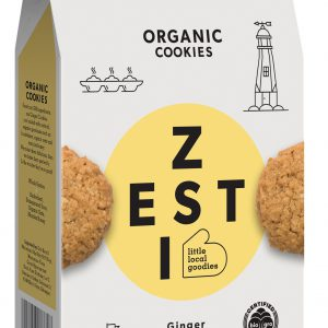 Zesti Ginger flavoured Organic Cookies