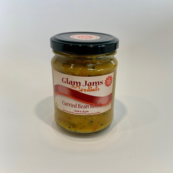 Glam Jams- Curried Bean