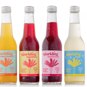 12pack of mixed sparkling coconut waters infused with roots and fruits