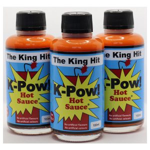 The King Hit (Hot Sauce) three