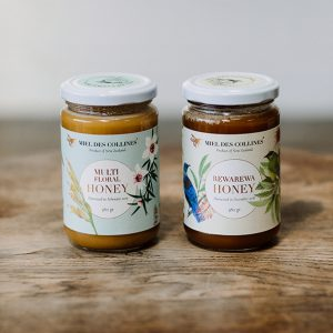 Miel des Collines Raw Honey Combo