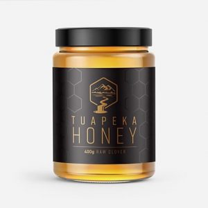 Tuapeka Honey Raw Clover 400g