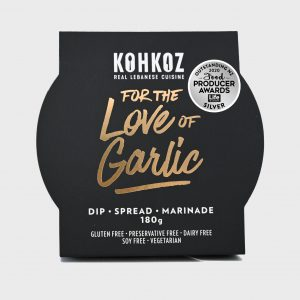 Kohkoz For The Love of Garlic Toum