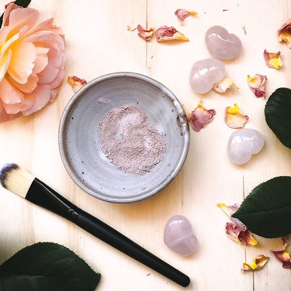Image of pink clay mask by Plant and Share