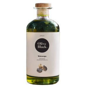 Olive Black Infused Black Garlic Olive Oil 245ml