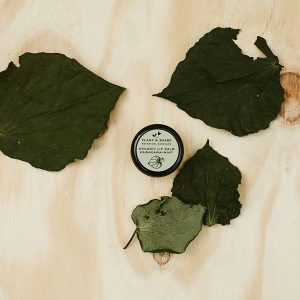 Organic kawakawa and mint lip balm by Plant and Share