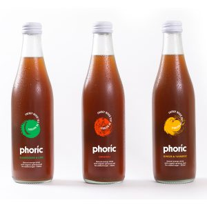Three pack Phoric Natural Energy Drinks