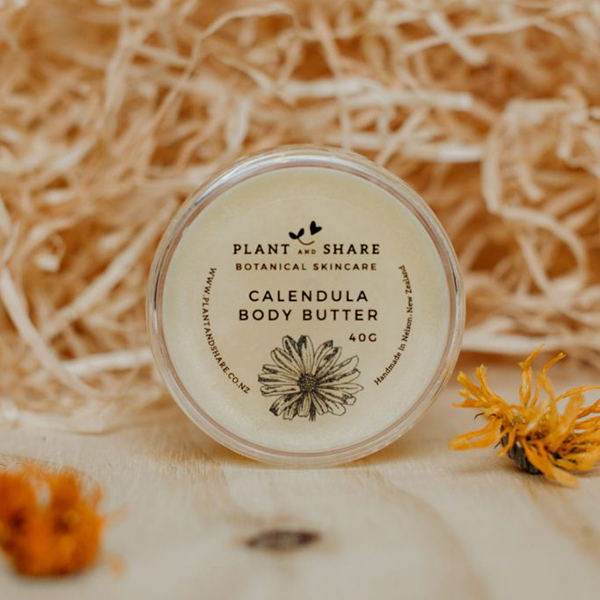 Calendula Body Butter made by Plant and Share