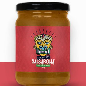 Bloody Hot Mexican Salsa (with Peanuts)