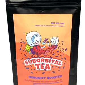 Fight back against cold season! Our Immunity Booster blend is made of natural ingredients that help prevent illness and aid in relieving cold & flu like symptoms. Immunity booster has a smooth, sweet taste mixed with a slight tartness.