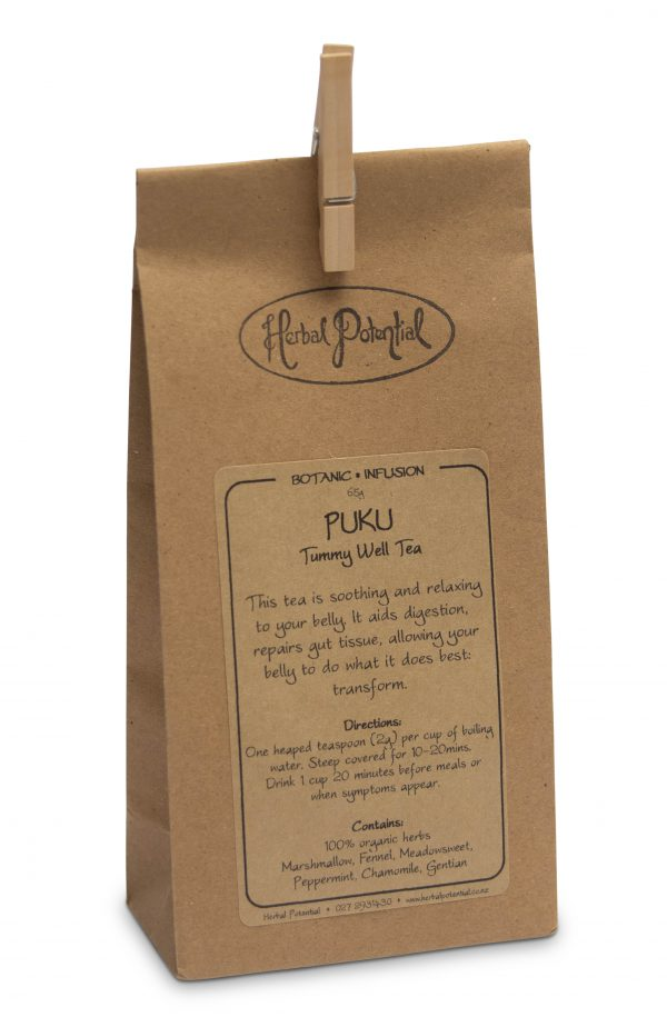 Tummy Well Tea by Herbal Potential 65g Packet