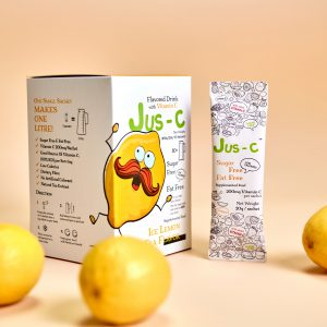 Jus-C Flavoured Drink with Vitamin C 20g x 10 sachets